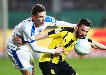 สปอร์ตฟรุนเด้ ลอตเต้ 0-3 โบรุสเซีย ดอร์ทมุนด์