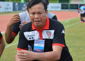 """""""โค้ชโต่ย"""" ชื่นชมลูกทีมเล่นได้ตามสูตร ทำให้ไทยฮอนด้าถล่มท่าเรือ 5-1"""