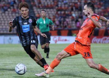 ไฮไลท์ฟุตบอล นครราชสีมา มาสด้า เอฟซี 0-0 การท่าเรือ เอฟซี