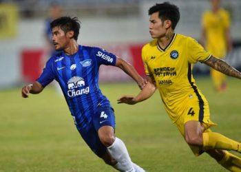 ไฮไลท์ฟุตบอล ชลบุรี เอฟซี  1-0  พัทยา ยูไนเต็ด