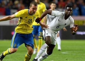 ไฮไลท์ฟุตบอล สวีเดน 2-1 ฝรั่งเศส