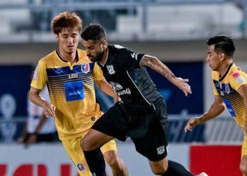 ไฮไลท์ฟุตบอล สุพรรณบุรี เอฟซี 2-0 การท่าเรือ เอฟซี