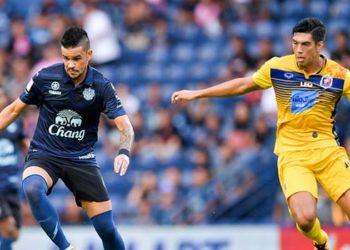 ไฮไลท์ฟุตบอล บุรีรัมย์ ยูไนเต็ด 1-0 การท่าเรือ เอฟซี