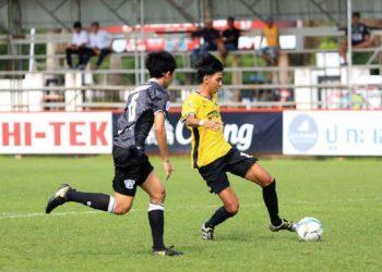 """""""โลมาจูเนียร์"""" U19 พลาดท่าบุกพ่าย ฉะเชิงเทราฯ 3-1 เสียบัลลังก์จ่าฝูง"""