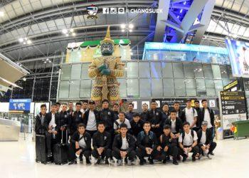 ราเยวัช นำ ทีมชาติไทย ลัดฟ้าสู่ ออสเตรเลีย แข่งขันนัดสุดท้ายคัดบอลโลก