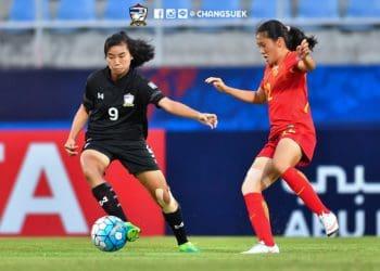 หมดทางสู้! ทีมชาติไทยหญิง U16 พ่าย จีน 1-6 นัดสุดท้ายรอบแบ่งกลุ่ม