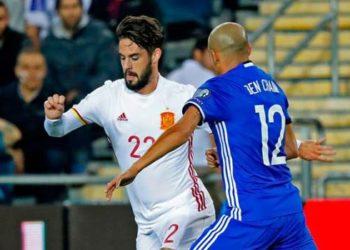 ไฮไลท์ฟุตบอล อิสราเอล 0-1 สเปน