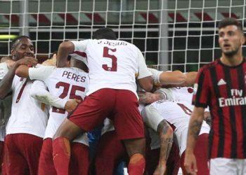 ไฮไลท์ฟุตบอล เอซี มิลาน 0-2 โรม่า