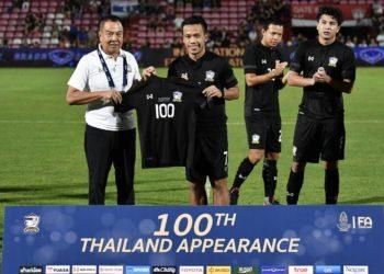 ดัสกร ขอบคุณทุกภาคส่วน ช่วยให้ตนติดทีมชาติไทยเป็นเกมที่ 100