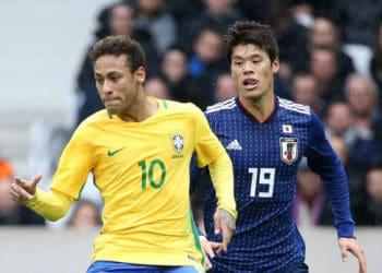 ไฮไลท์ฟุตบอล ญี่ปุ่น 1-3 บราซิล