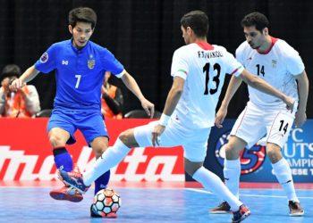 ทีมชาติไทย พ่าย อิหร่าน ยับ 1-9 ตกรอบ 8 ทีมสุดท้าย ฟุตซอลชิงแชมป์เอเชีย
