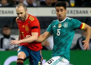 ไฮไลท์ฟุตบอล เยอรมัน Vs สเปน