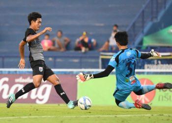 ทีมชาติไทย U21 ทิ้งทวนกร่อย พ่าย นครปฐม 0-2 ก่อนอุ่นเครื่องจีน
