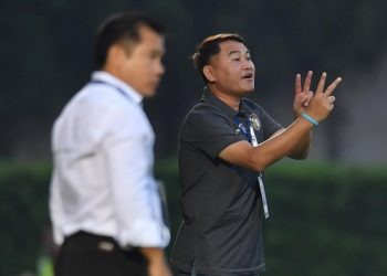 สมชาย หลัง ราชบุรี คืนฟอร์มอีดราชนาวี หลังโดนชลบุรี ยิง 2 ลูก 2 นาที