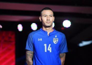 วอริกซ์ เปิดตัวชุดแข่งทีมชาติไทยประเดิมคิงส์คัพ